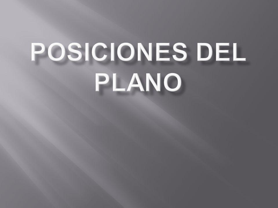 POSICIONES DEL PLANO
