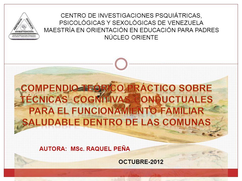 Compendio teórico práctico sobre AUTORA: MSc. RAQUEL PEÑA