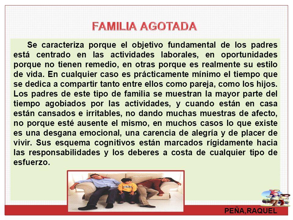 FAMILIA AGOTADA
