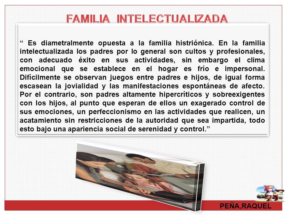 FAMILIA INTELECTUALIZADA