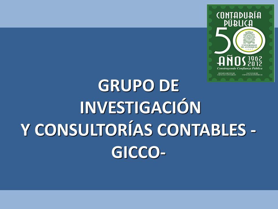 Y CONSULTORÍAS CONTABLES -GICCO-