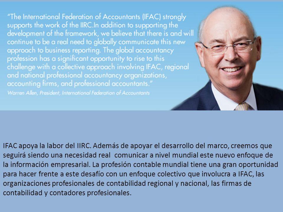 IFAC apoya la labor del IIRC