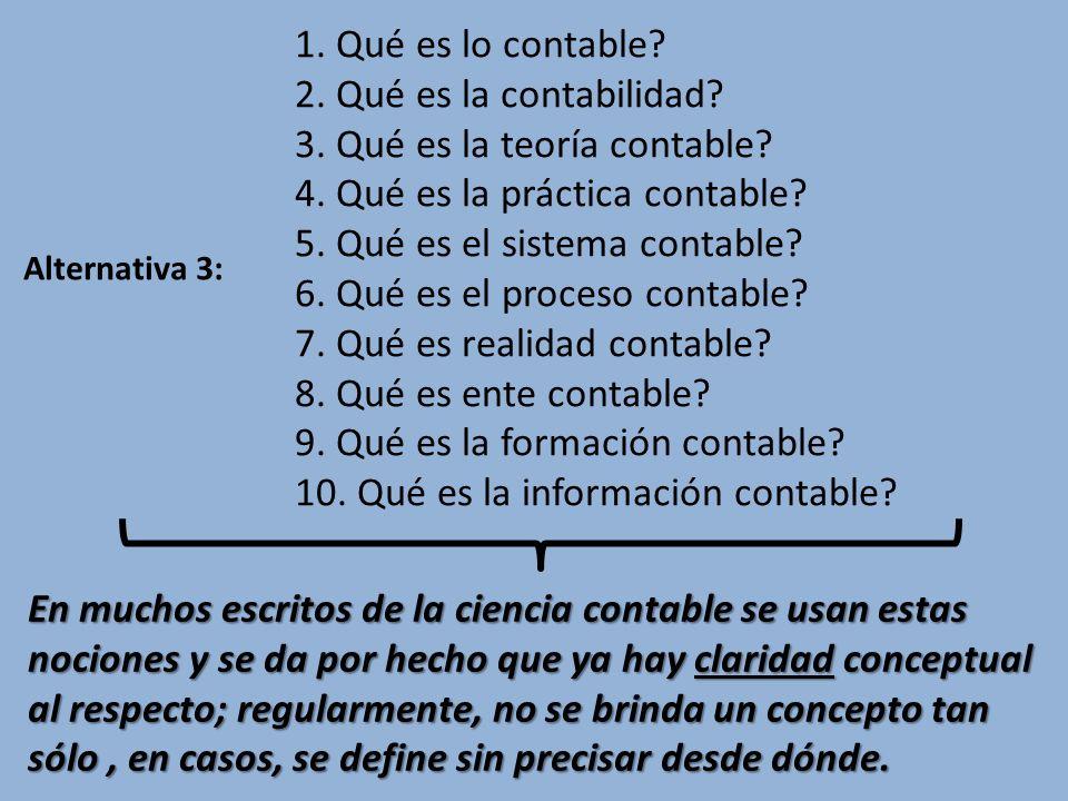 3. Qué es la teoría contable 4. Qué es la práctica contable