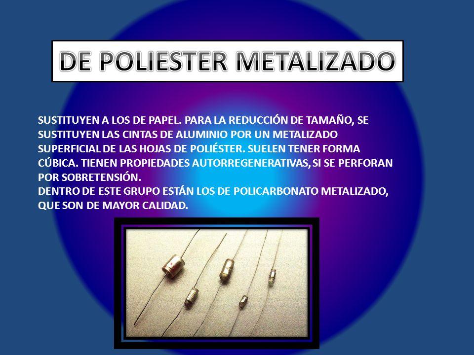DE POLIESTER METALIZADO