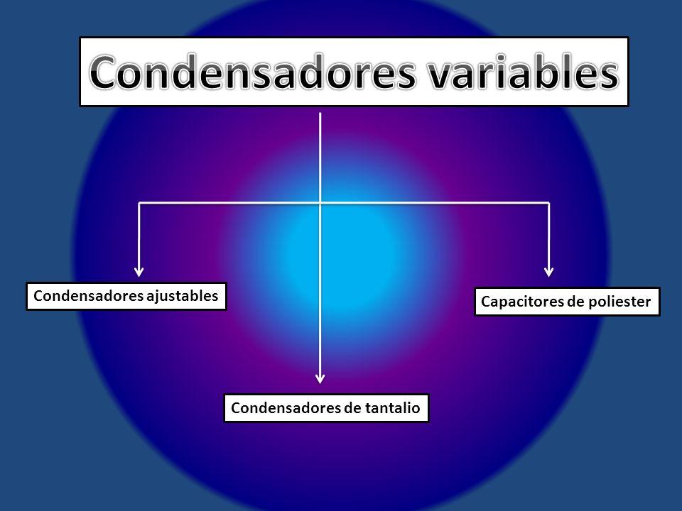 Condensadores variables