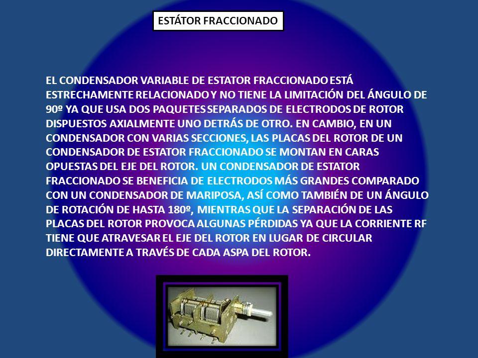ESTÁTOR FRACCIONADO
