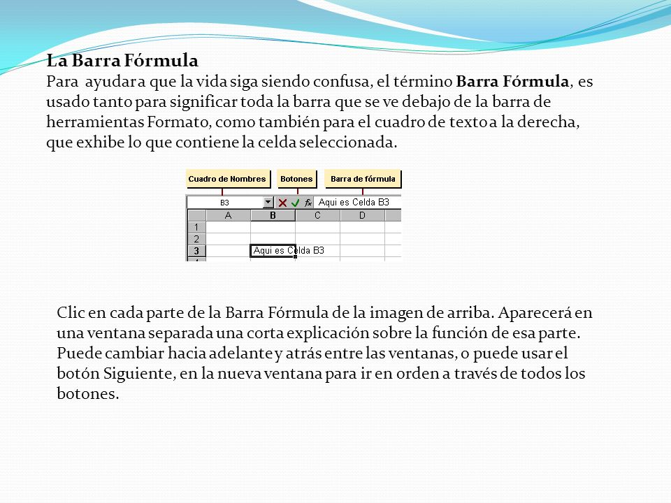 La Barra Fórmula