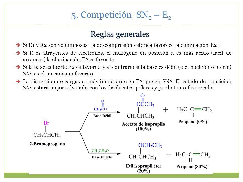 5. Competición SN2 – E2 Reglas generales