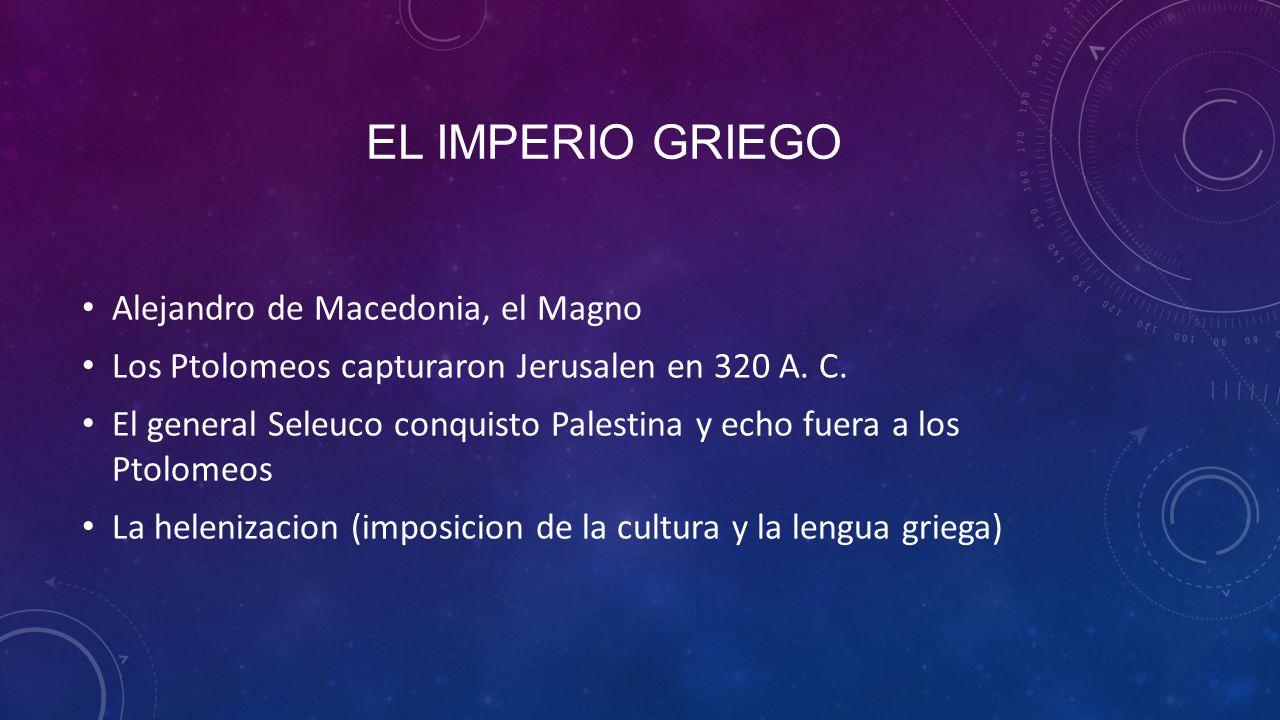 El imperio griego Alejandro de Macedonia, el Magno