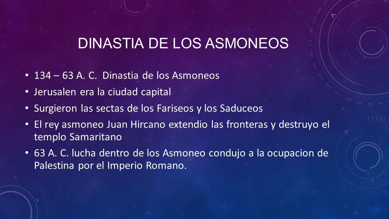 Dinastia de los asmoneos
