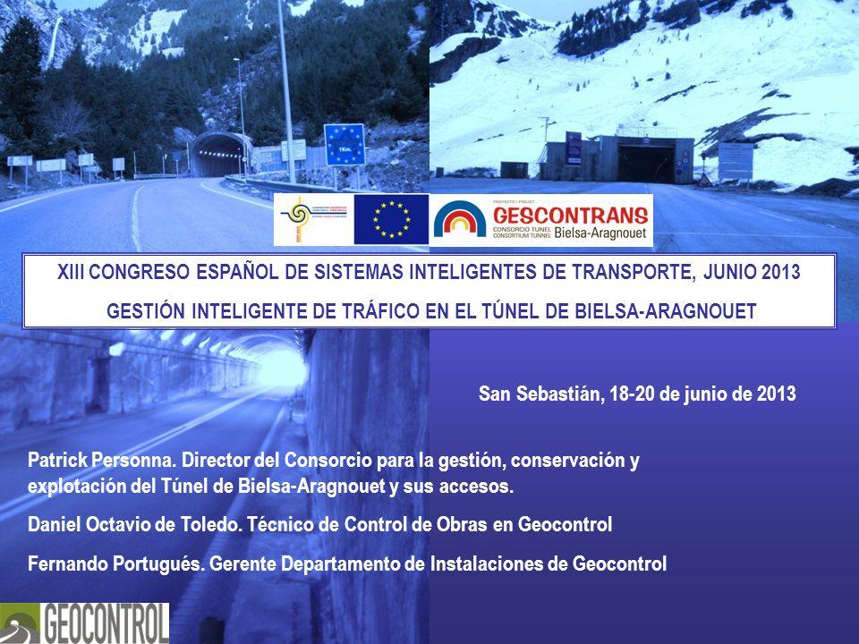 GESTIÓN INTELIGENTE DE TRÁFICO EN EL TÚNEL DE BIELSA-ARAGNOUET