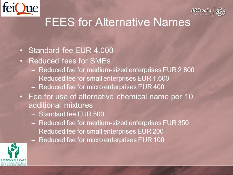 FEES for Alternative Names
