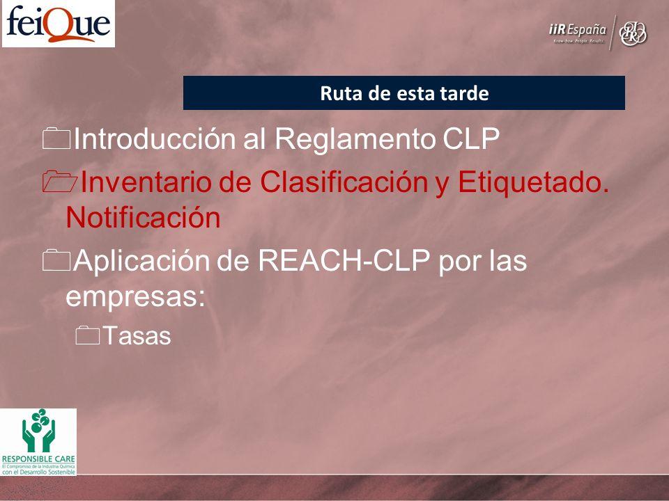 Introducción al Reglamento CLP