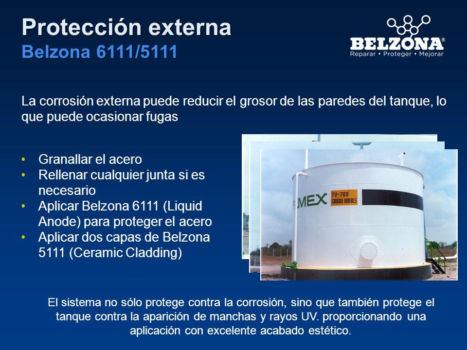 Protección externa Belzona 6111/5111