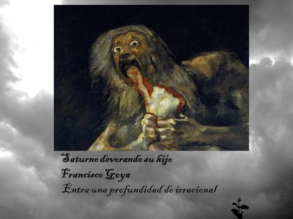 Saturno devorando su hijo Francisco Goya