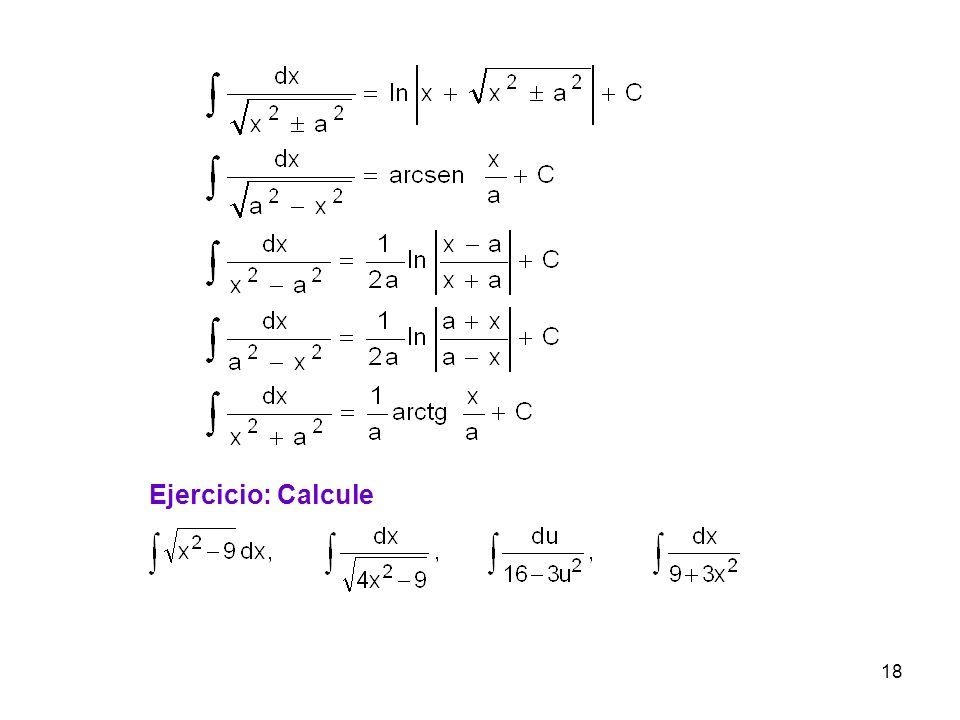 Ejercicio: Calcule