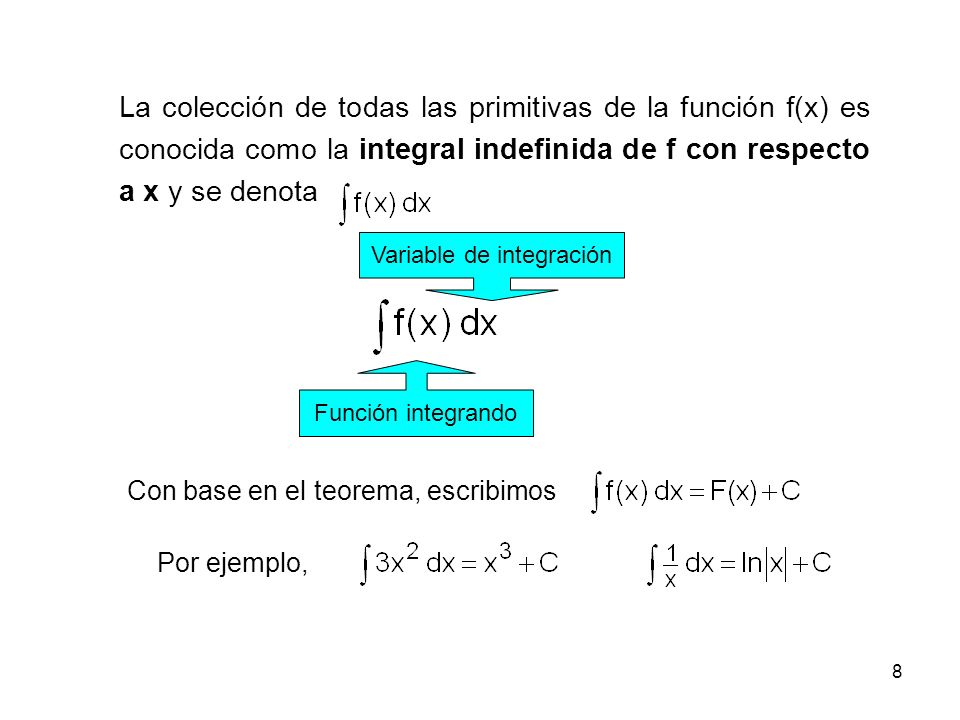 Variable de integración