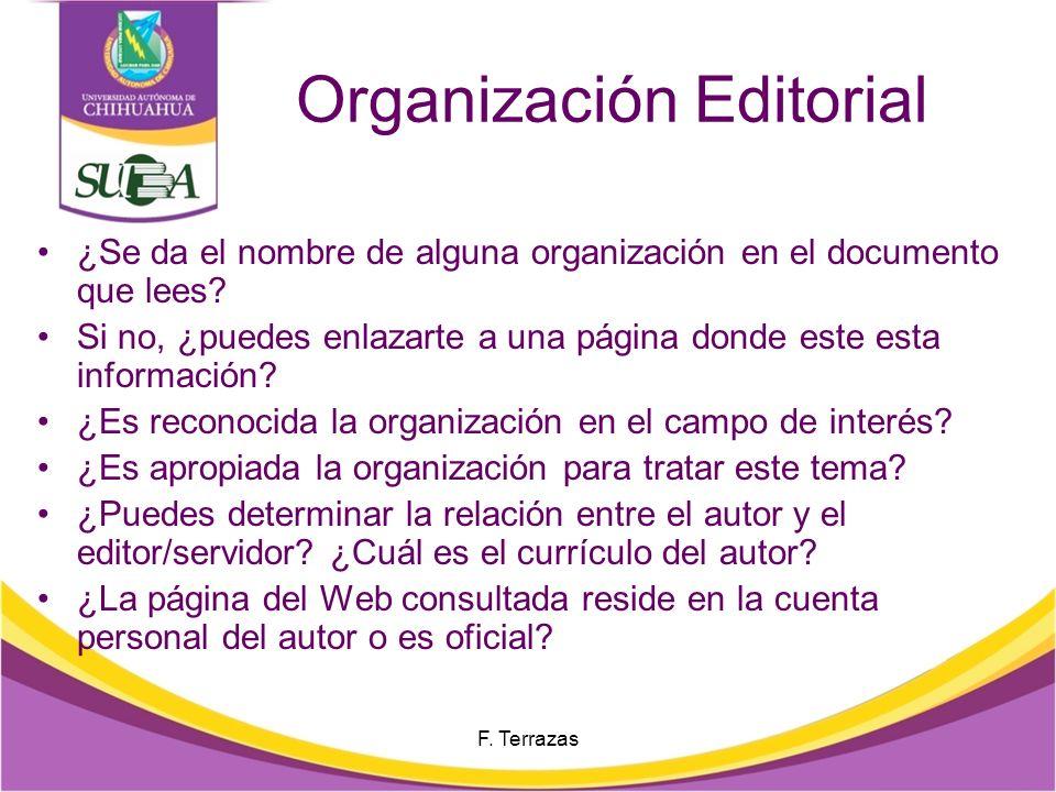 Organización Editorial