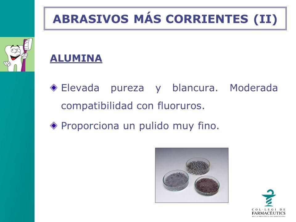 ABRASIVOS MÁS CORRIENTES (II)
