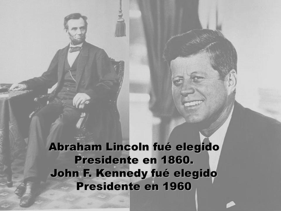 John F. Kennedy fué elegido Presidente en 1960