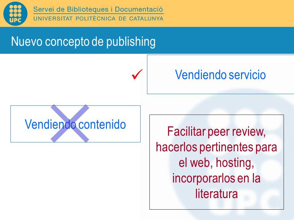 Nuevo concepto de publishing