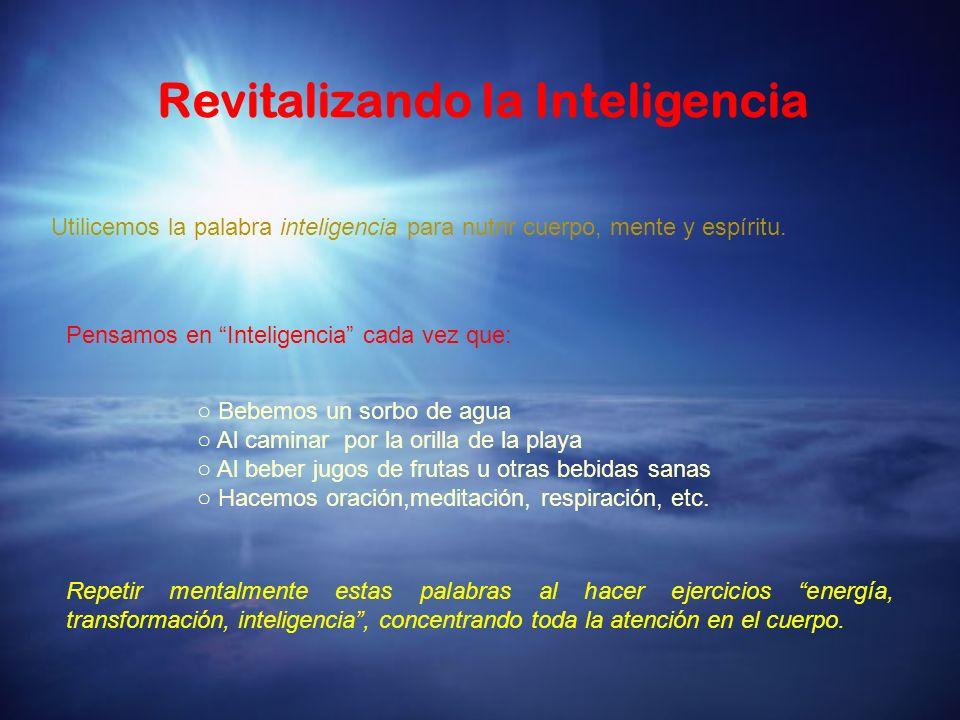 Revitalizando la Inteligencia