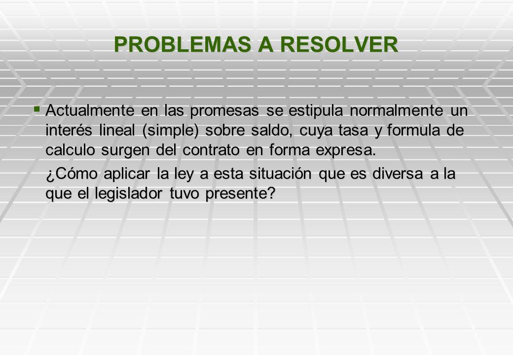 PROBLEMAS A RESOLVER