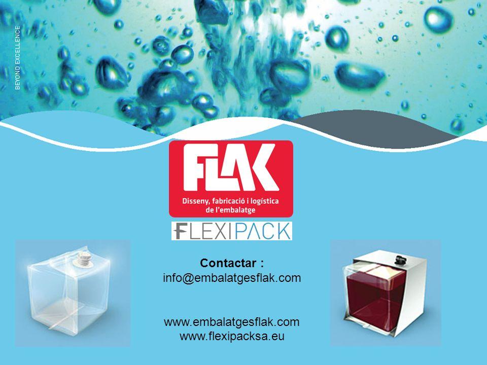Contactar : info@embalatgesflak.com www.embalatgesflak.com www.flexipacksa.eu