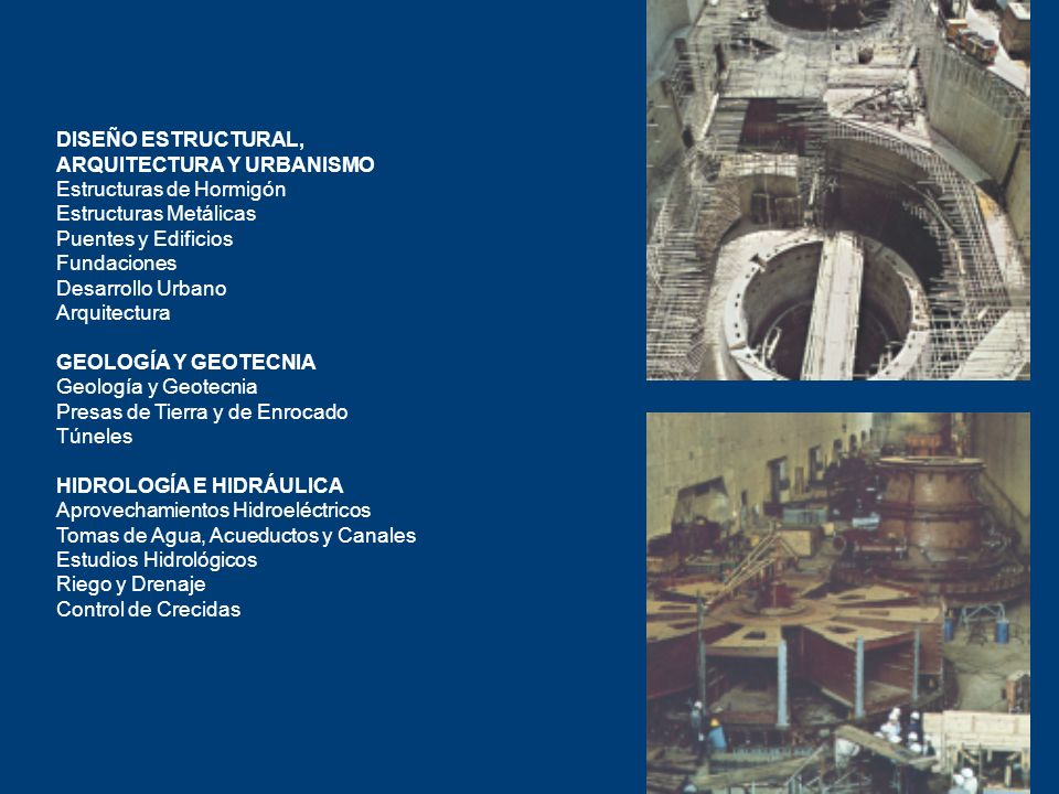 DISEÑO ESTRUCTURAL, ARQUITECTURA Y URBANISMO. Estructuras de Hormigón. Estructuras Metálicas. Puentes y Edificios.