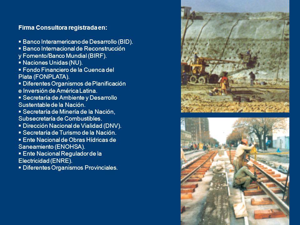 Firma Consultora registrada en: