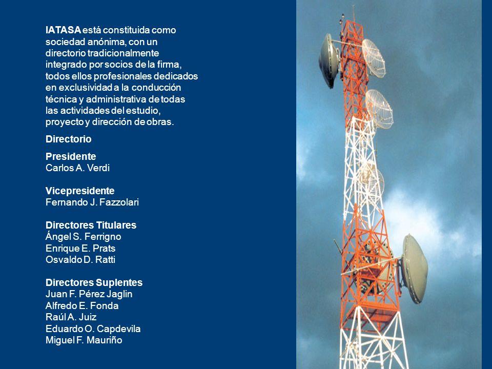 IATASA está constituida como sociedad anónima, con un directorio tradicionalmente integrado por socios de la firma, todos ellos profesionales dedicados en exclusividad a la conducción técnica y administrativa de todas las actividades del estudio, proyecto y dirección de obras.