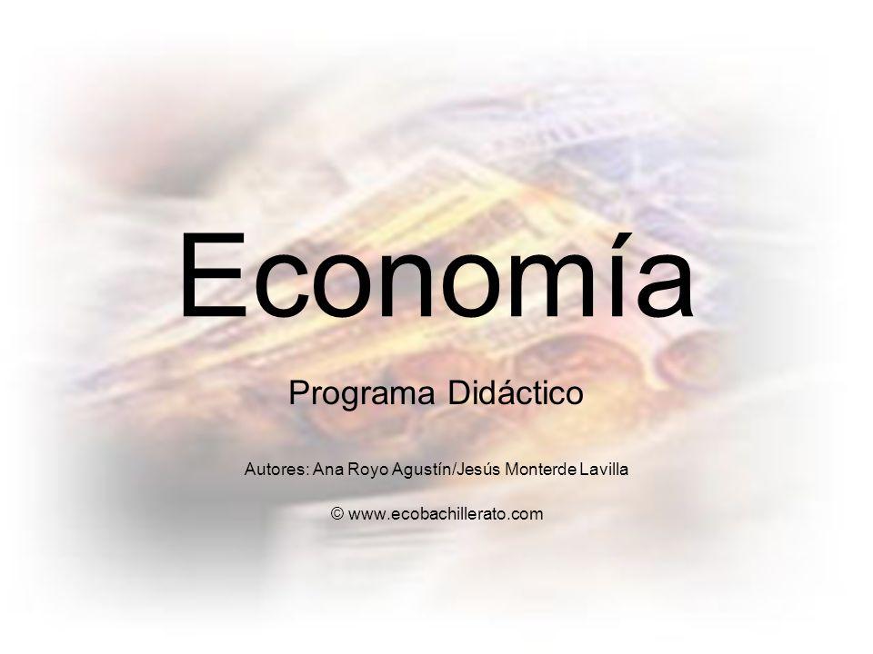 Economía Programa Didáctico