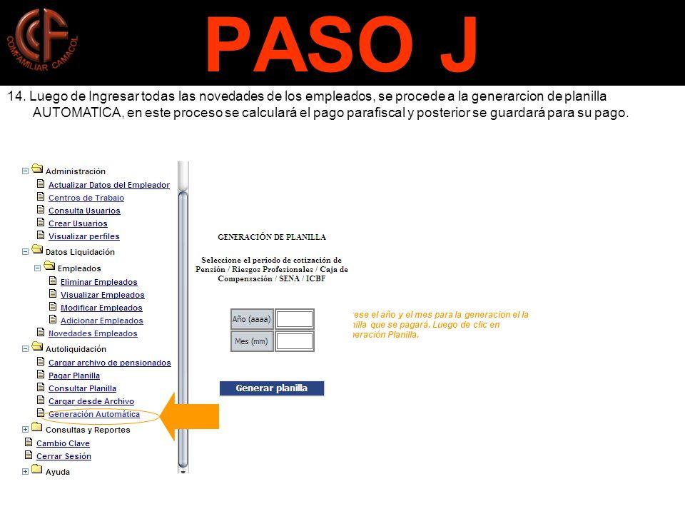 PASO J
