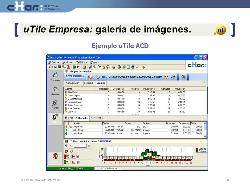 uTile Empresa: galería de imágenes.