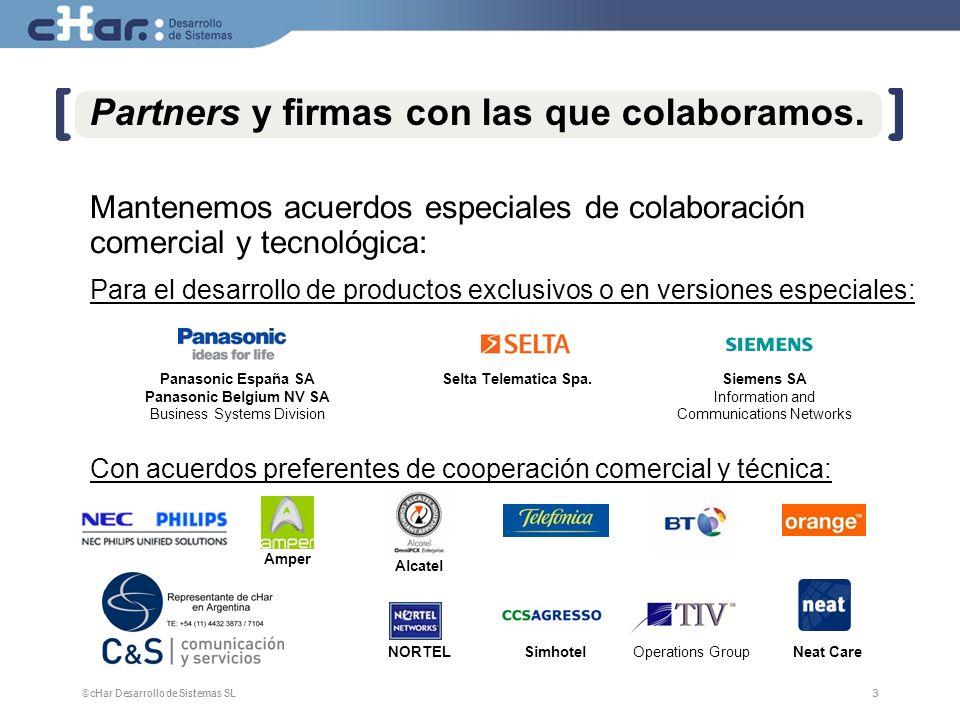 Partners y firmas con las que colaboramos.