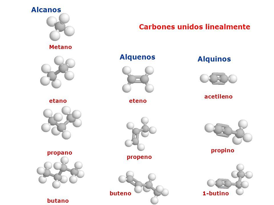 Carbones unidos linealmente