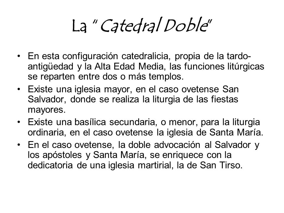 La Catedral Doble