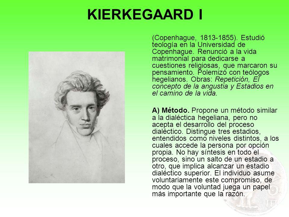 KIERKEGAARD I