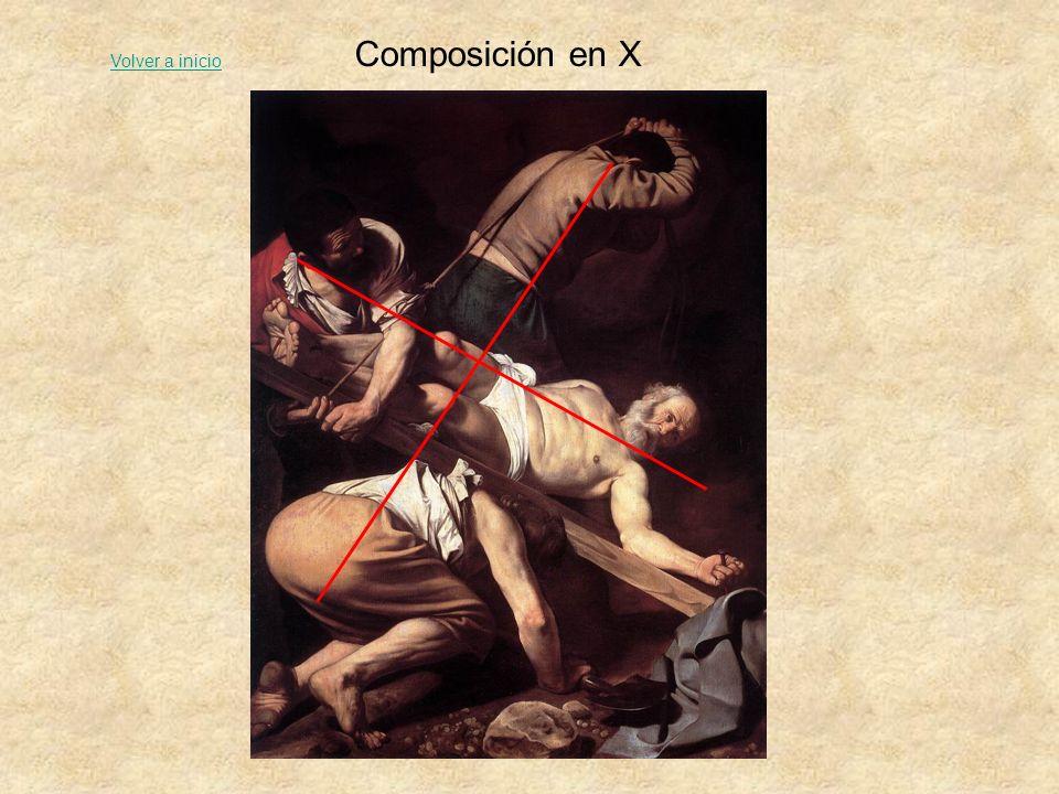 Composición en X Volver a inicio