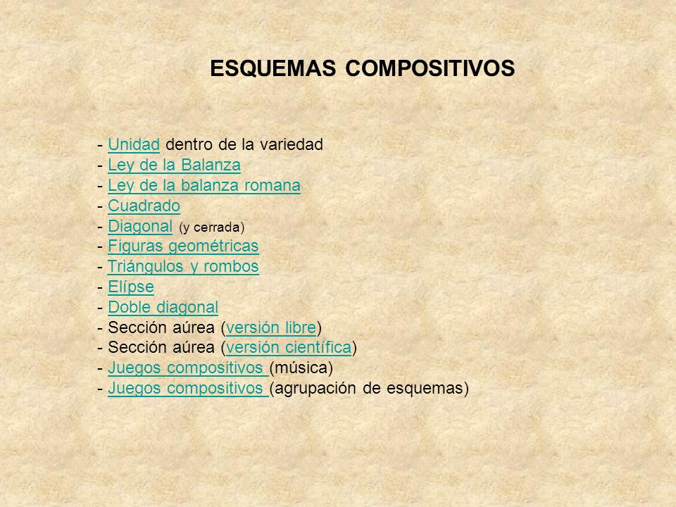 ESQUEMAS COMPOSITIVOS