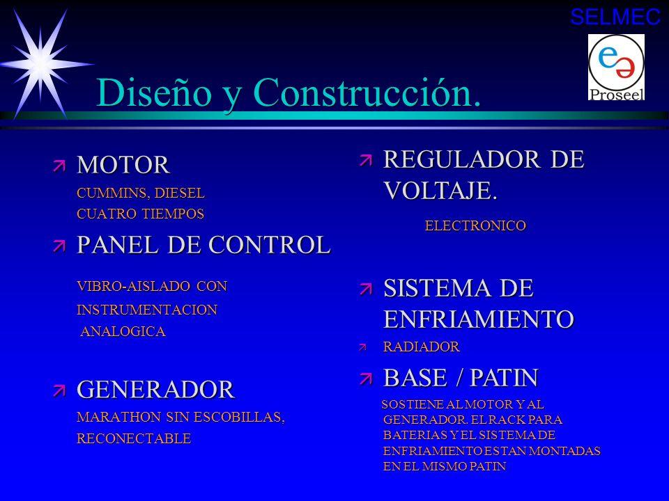 Diseño y Construcción. REGULADOR DE VOLTAJE. ELECTRONICO MOTOR