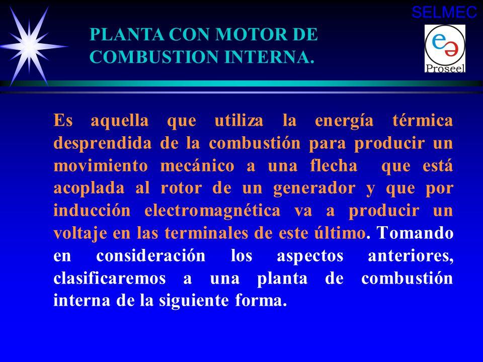 PLANTA CON MOTOR DE COMBUSTION INTERNA.
