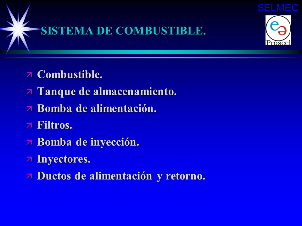 SISTEMA DE COMBUSTIBLE.