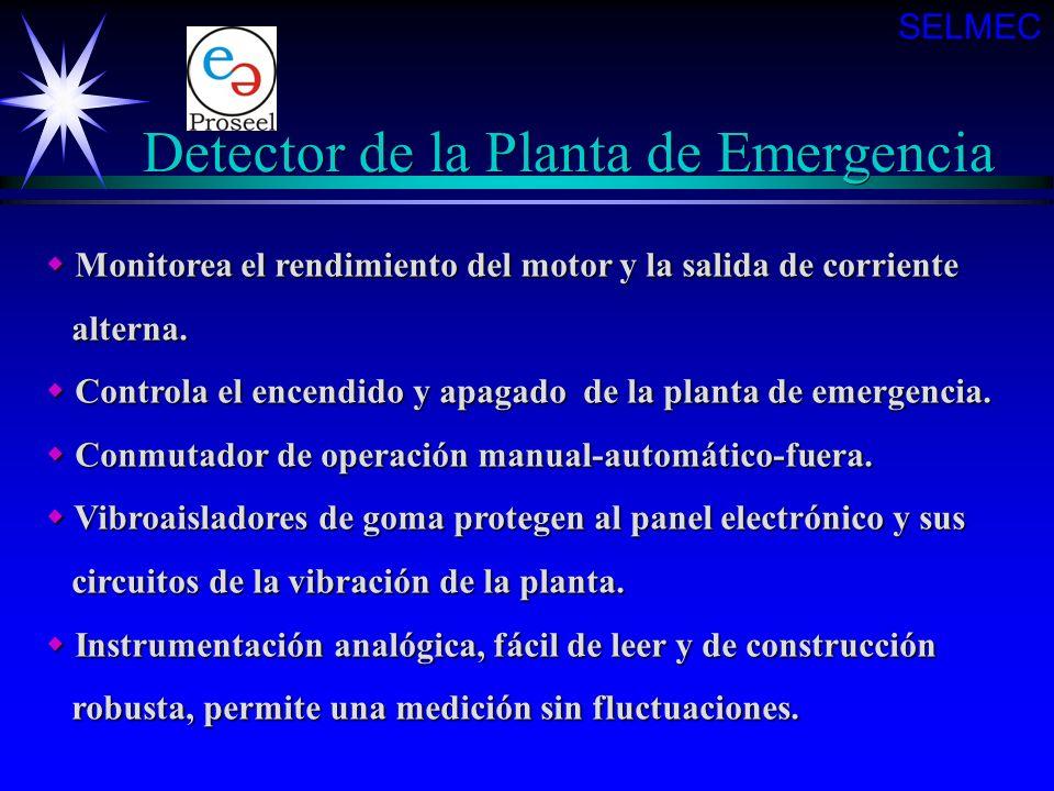 Detector de la Planta de Emergencia