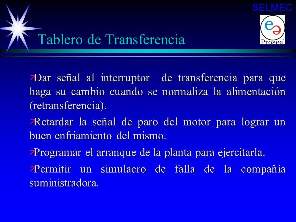 Tablero de Transferencia