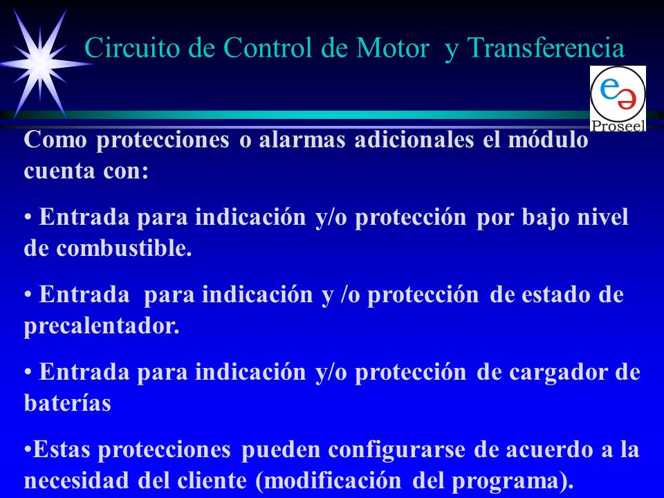 Circuito de Control de Motor y Transferencia