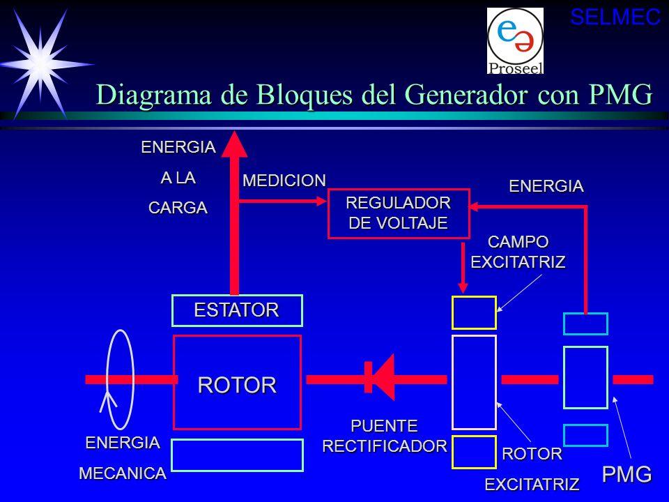 Diagrama de Bloques del Generador con PMG