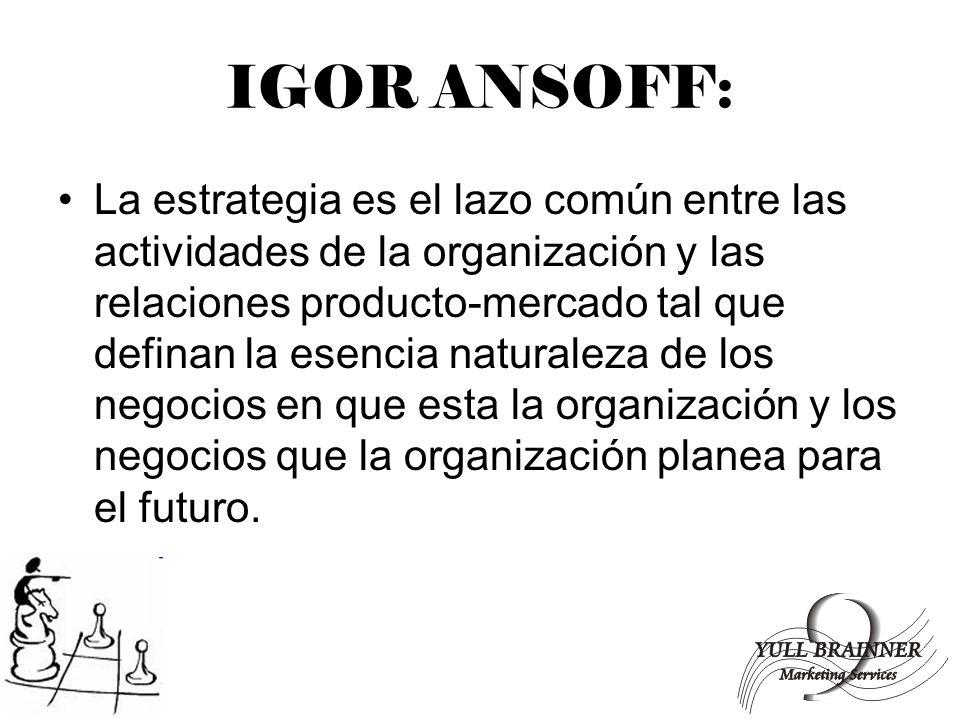 IGOR ANSOFF: