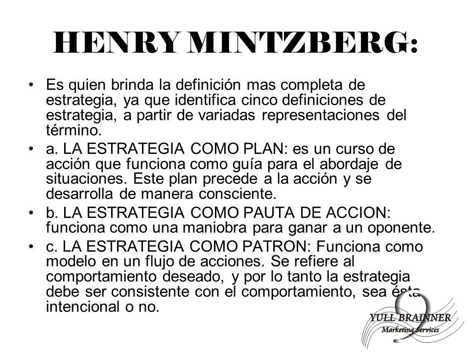 HENRY MINTZBERG: