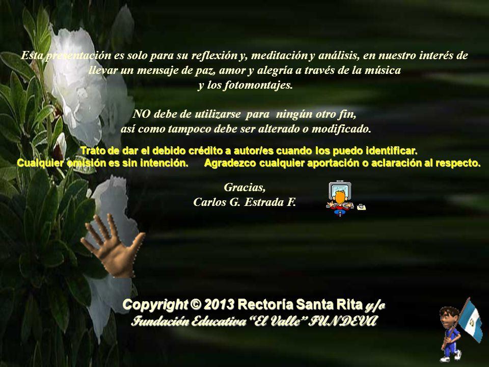 Copyright © 2013 Rectoría Santa Rita y/o